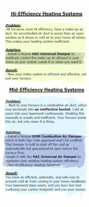 Mid and Hi Efficient Heating Systems