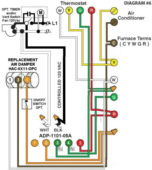 Color Wiring Diagram #6