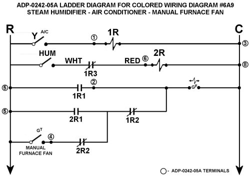 Color Wiring Diagram #6A9