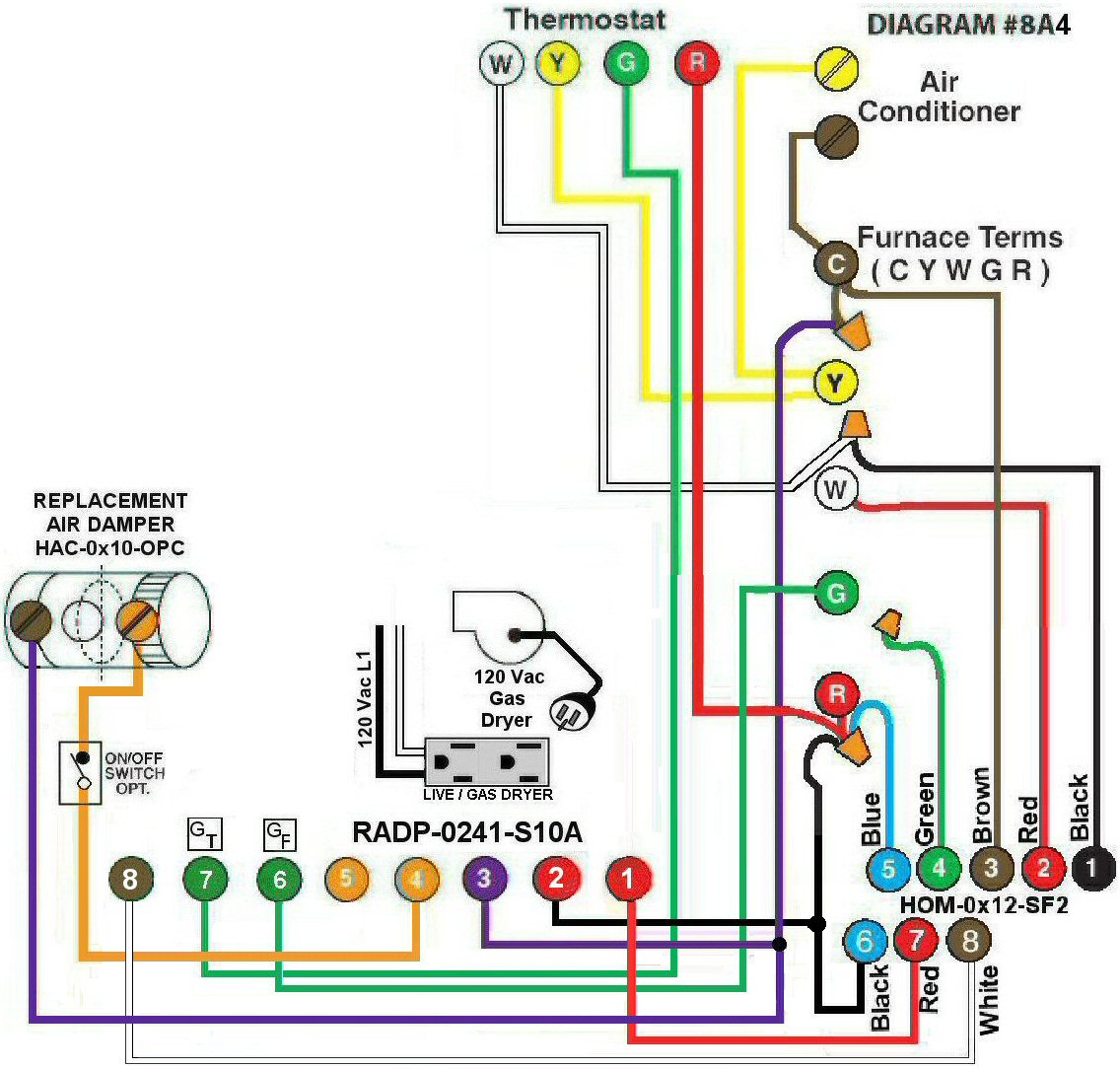 Goodman Gas Furnace Wiring Schematic Not Lossing Diagram Strip Heat Intertherm Sequencer Air Schematics Hvacwiring Electric