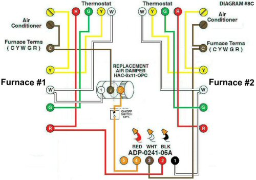 Color Wiring Diagram #8C