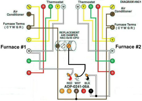 Color Wiring Diagram #8C1