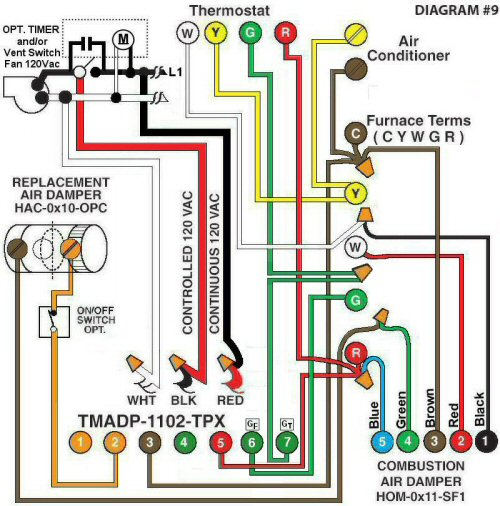 Color Wiring Diagram #9