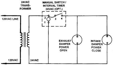 HAE- Wiring Diagram used in the 'HAE' Defrosting Cycle