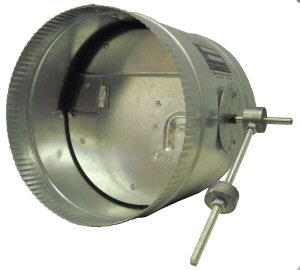BPD - Back Pressure Damper - Side View