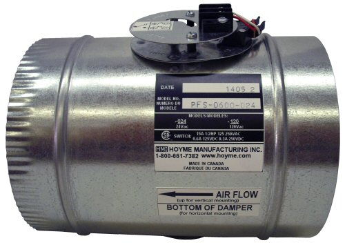 PFS - Positive Flow Switch - 24 Vac Bottom View