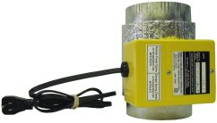 HAC - LT - Fresh Air Damper Insulated with Thermal Switch - 120 Vac