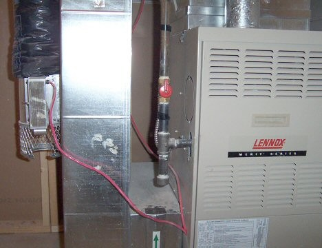 HOM - Combustion Air Damper -Residential Installation