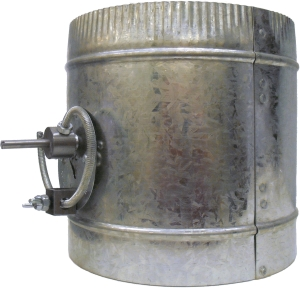 MBD - Manual Balance Damper - Side View